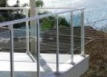 Glass balustrading Alumitec