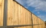 Temporary Fencing Suppliers Lap and Cap Timber Fencing